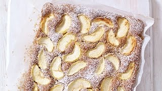 Mary Berry's Spiced Dorset Apple Traybake Recipe