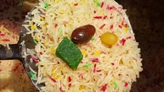 Degi Zarda Final touch zarda in village style/12 kg rice cook by village chef