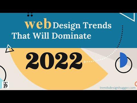 Web Design Trends 2022 | design trends2022 | website-trends | trends graphic | ui ux design