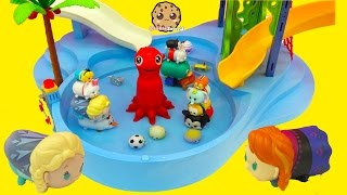 Video Unboxing Disney Tsum Tsum with Mystery Blind Bag with Frozen's Olaf at Pool Party - Cookieswirlc download MP3, 3GP, MP4, WEBM, AVI, FLV Oktober 2019