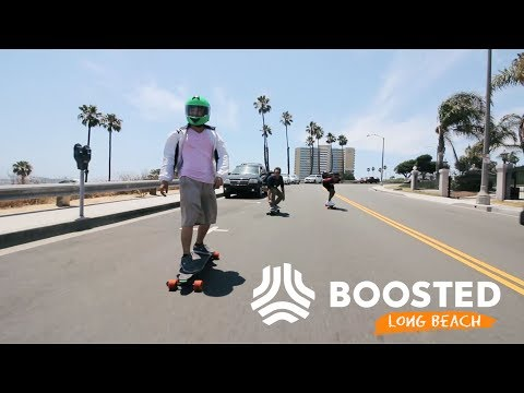 Long Beach Boosted Board Group Ride - Boosted Safari!