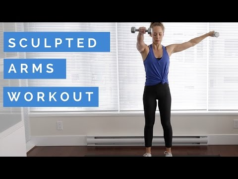 At Home Workout: Sculpted Arms