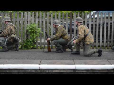 Bury Olden Days - 1940's Weekend Ramsbottom Part 4 - 29 May 2016