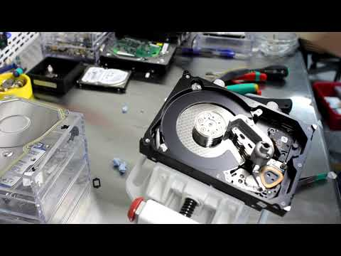 Замена головок жёсткого диска