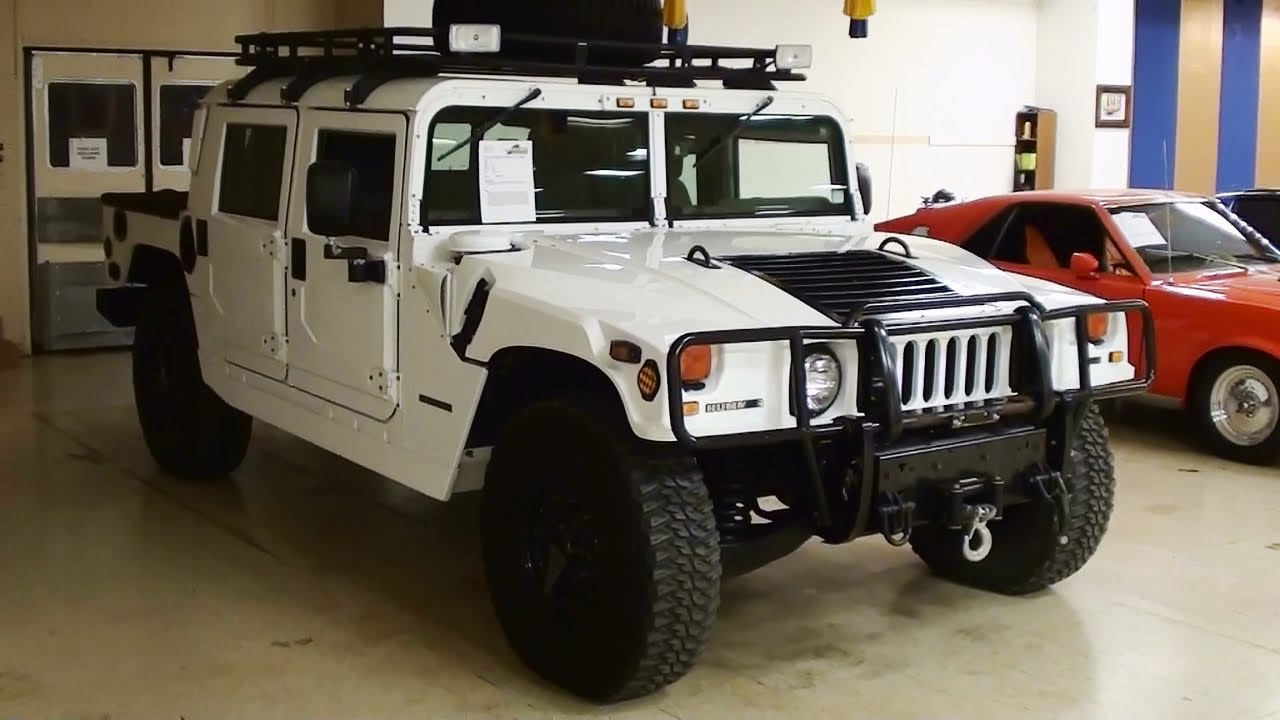 1999 am general hummer h1 6 5 turbo diesel awesome offroad machine youtube