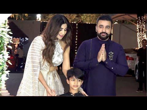 Shilpa Shetty grand Diwali celebration With Many Bollywood Stars Diwali 2018 thumbnail