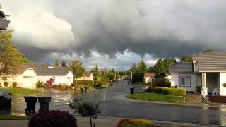 Tornado Warning Roseville,  CA