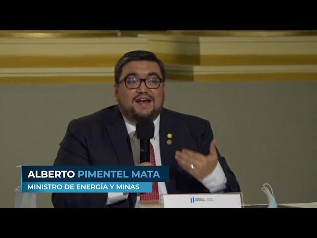 Participación del Ministro Alberto Pimentel Mata en el Plan de Recuperación Económica de Guatemala