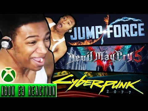 Etika Reacts to XBOX E3 Conference - Funny/Hype Moments [Stream Highlights]