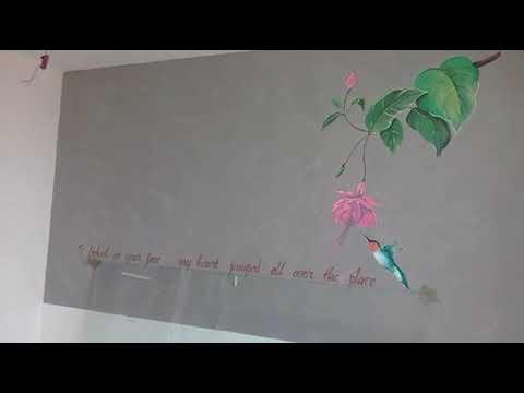 vẽ tranh tường phòng khách sạn dc khách hàng ưa chuộng:TínPhátArt 0976.476.894