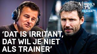 Mark van Bommel krijgt regelmatig advies van Veronica Inside-sidekick Rick Romijn