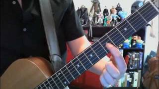 How to play Silver Springs solo