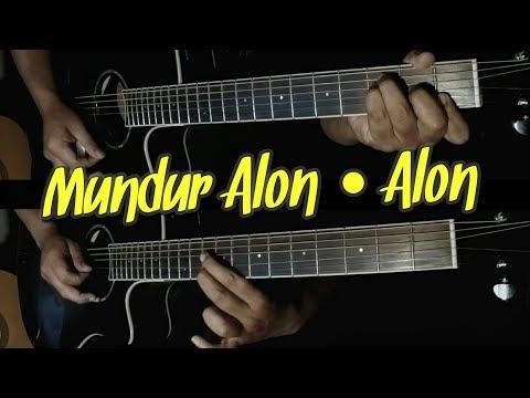 Mundur Alon Alon Akustik Guitar Cover Instrumental  The Superheru