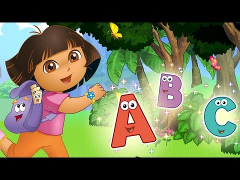 ABC Song  ABC Alphabet Songs Nursery Rhymes  Learn Alphabets ABC with Dora the Explorer  Nick JR