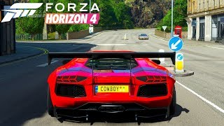 Forza Horizon 4 - Lamborghini Aventador | Gameplay - Test Drive
