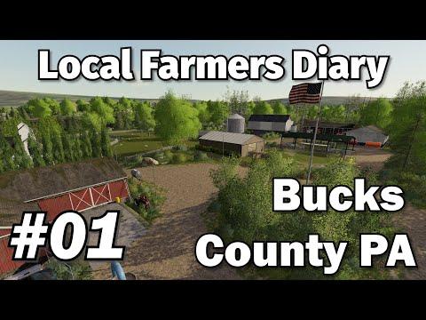 Farming Simulator 19 - Local Farmers Diary EP#01 - Bucks County PA