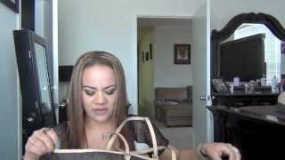 Whats in my Michael Kors jet set travel logo bag Thumbnail