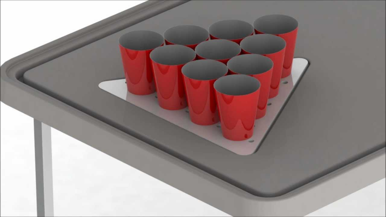 Beer pong table dimensions - Best Beer Pong Table Ever