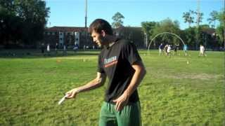 How To Throw A Forehand Far | Brodie Smith