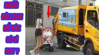 Người Đài Loan họ đổ rác như thế nào?