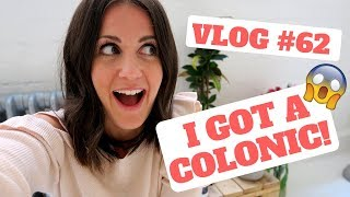 Vlog62 - My colonic hydrotherapy experience | HMFYOGA