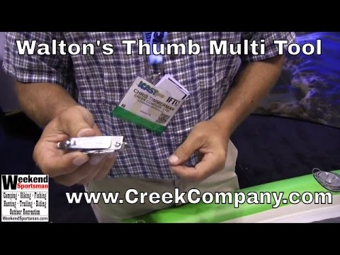 #CreekCompany Walton's Thumb Fisherman's Multi Tool | Weekend Sportsman