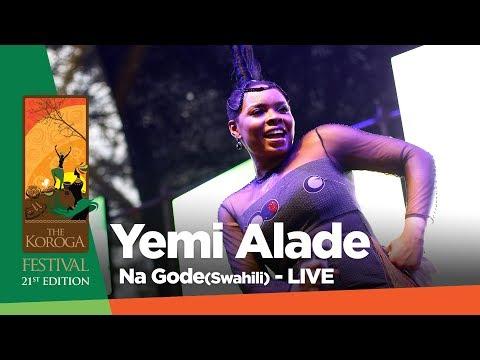 Yemi Alade - Na Gode (Live at Koroga festival #QueensRock edition)
