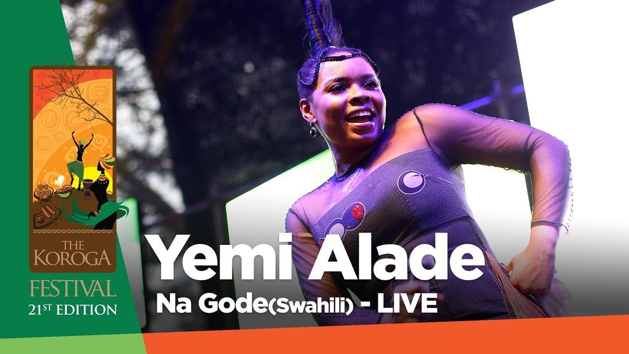 Download Yemi Alade - Na Gode (Live at Koroga festival #QueensRock edition)