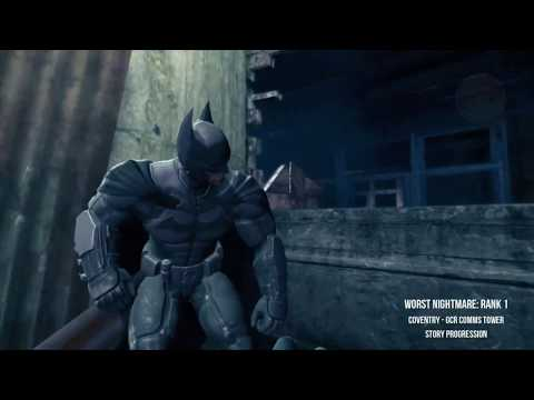 Batman Arkham Origins - Worst Nightmare ALL Ranks, Single Playthrough Guide (Dark Knight System)