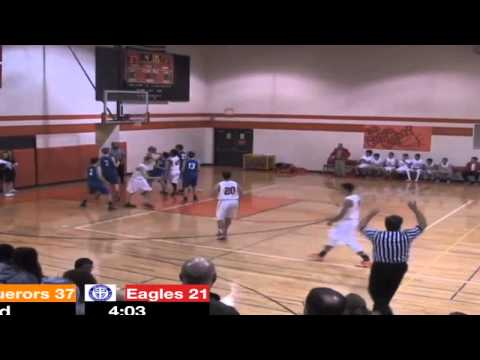 Michael Petrella Schaumburg Christian School 2014-2015 basketball sophomore highlights