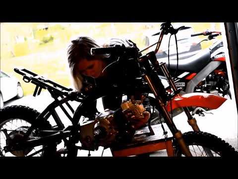 Yamaha DT50X Engine SWAP - 100cc Lifan 4 stroke