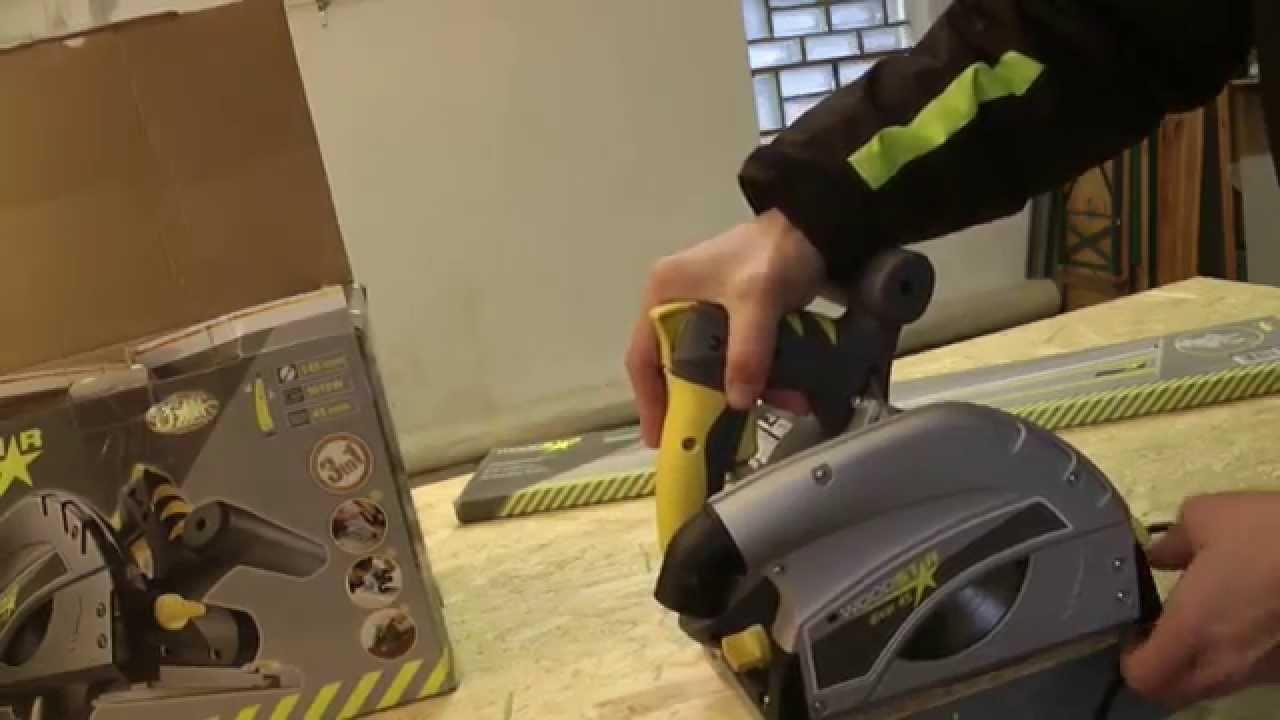 test der tauchsäge - woodstar - youtube
