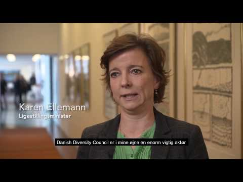 #LEADTHEFUTURE OG THE DANISH DIVERSITY COUNCIL, LIGESTILLINGSMINISTER KAREN ELLEMANN