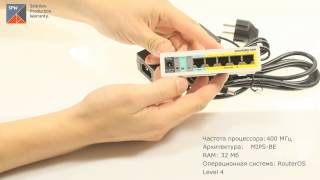 Видеообзор маршрутизатора MikroTik RB750UP