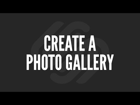 Squarespace Tutorial: Create a Photo Gallery