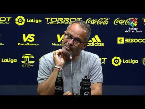 Rueda de prensa de  Álvaro Cervera tras el Cádiz CF vs SD Ponferradina (3-1)