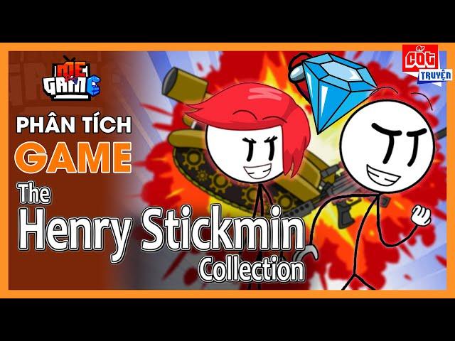 Phân Tích Game: Người Que - The Henry Stickmin Collection | meGAME