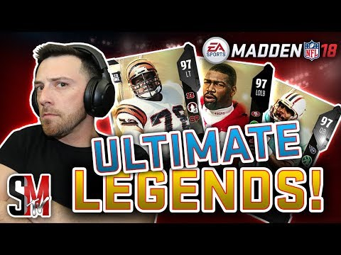 LTD Ultimate Legend Anthony Munoz, Charles Haley & Warren Moon - Madden NFL 18 Ultimate Team