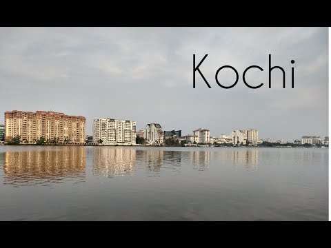 KOCHI SKYLINE ,COCHIN PORT & BOLGATTY PALACE IN 4K ULTRA HD