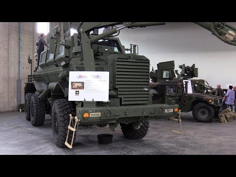 Military vehicles details - Buffalo, Husky, M1151A, BV206 S7 CP, VTLM Lince