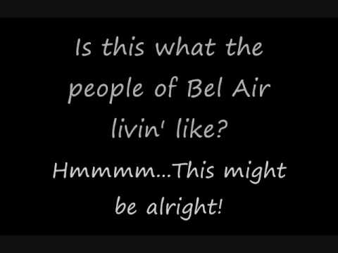 Fresh Prince of Bel Air Theme Song +Lyrics