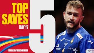 Top 5 Saves | Day 17 | Men's EHF EURO 2020