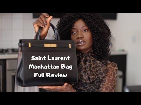 SAINT LAURENT (YSL) Manhattan Bag Full Review & Styling