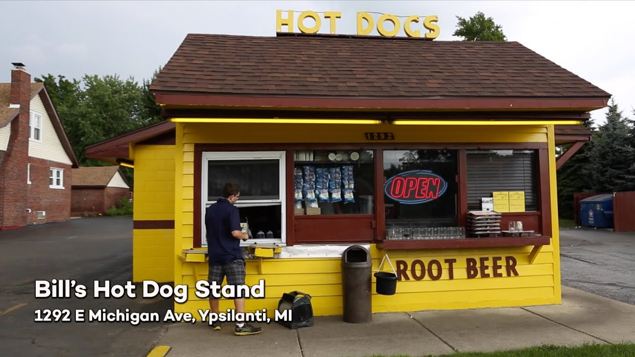 How To Make A Hot Dog Stand