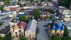 Carnegie PA Aerial Video: Pittsburgh's fun town!