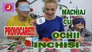PROVOCARE Machiaj cu Ochii Inchisi O Facem Pe Mamica Frumoasa Makeup Challenge