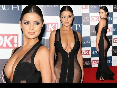 Tyga S Ex Demi Rose Goes Nearly N Ked In Underwear Free Sheer Dress At Ok Beauty Awards 2016
