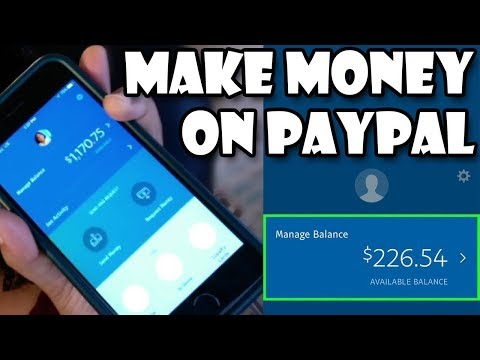 Earn Money Paypal 2018 - Free Money On Paypal [Paypal 2018]