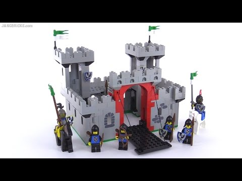 Vintage LEGO Knight's Castle from 1984! set 6073