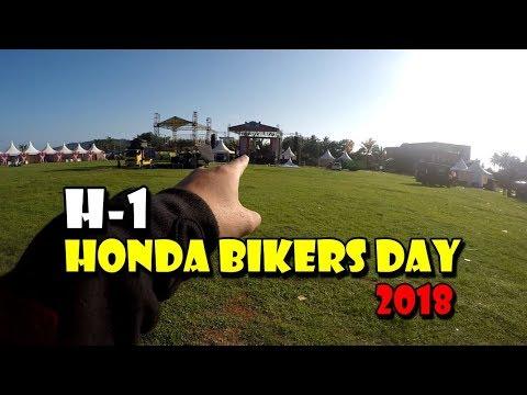 OTW PANTEI ! H-1 HONDA BIKERS DAY 2018 ACARA GEDE